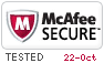 McAfee Secure 10/22/2018