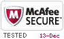 McAfee Secure 12/13/2018