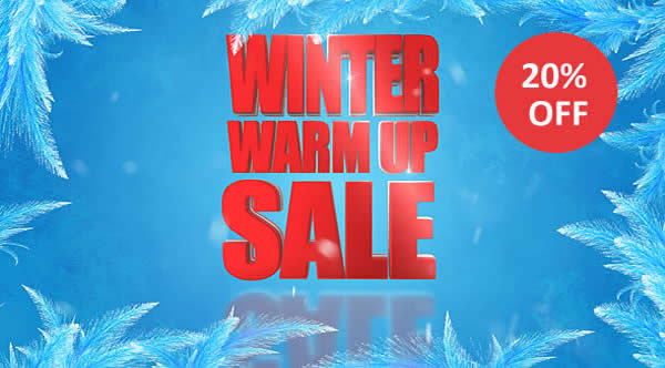 WINTER SALE - 20% OFF